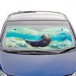 アシカが車でお留守番!?「ラパス海のアシカが遊ぶサンシェード」がフェリシモの『海とかもめ部(TM)』から新登場