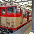 リバイバルトレイン「急行九十九島号」の旅 キハ66.67形国鉄色車両(2両編成)を使用 車両基地見学も
