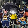 絵本風アートが魅力のSwitch用パズルADV「Rain City」は6月27日より配信へ。体験版の配信が本日スタート