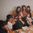 西山茉希、親友・宇賀なつみアナの誕生日をいつものメンツでお祝い 山田優の姿も