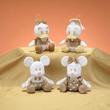 ミッキー・ミニー・ドナルド・デイジー!セガプライズ ディズニー「ミッキー&フレンズ ホワイトゴールドぬいぐるみ」