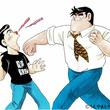 クッキングパパ、ニコニコとファブルを殴る! 異例のコラボイラスト公開