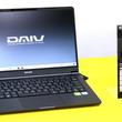 マウス「DAIV」、sRGB比102%液晶と14時間バッテリ駆動の14型ノートPC