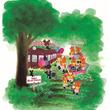 阪急1日乗り放題券+オリジナルグッズキタ! 「くまのがっこう」×阪急コラボ第二弾もかわいい