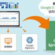 運用型広告レポート自動作成ツール「アドレポ」、Googleスプレッドシート出力機能を追加。BIツールの活用促進とレポーティング業務の効率化を支援。
