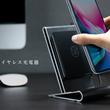 これであなたのデスク周りをおしゃれにスッキリランクアップ!卓上スタンド機能+ワイヤレスQi充電機能で、様々なスマートフォンに対応「CORESTAND WIRELESS CHARGER」