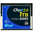 アミュレット、4Kビデオ収録対応CFast2.0メモリーカード「Wise CFast2.0メモリーカード1TB」を発売