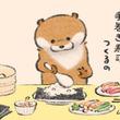 『手巻き寿司』を作るカワウソ 欲張りすぎて…? オチの絵にじわる人続出