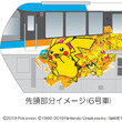 ピカチュウたちのラッピング車両が登場!東京モノレール「ポケモンモノレール」