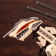 白骨化石をイメージしたカラーリング!『ゾイド』特別カラーのジェノザウラーとガンスナイパーのプラモデルがHMMシリーズより登場!恐竜博2019会場にて先行販売