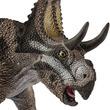 「悪魔の角を持つ顔」ディアブロケラトプスなど、リアルな恐竜フィギュア4種類がシュライヒから登場!長い首がくねくね動くプレシオサウルスも!!