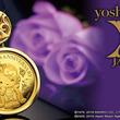 愛されてyoshikitty誕生10周年、金貨を使った宝飾純金コインペンダント限定販売