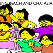 ネバヤンとCHAIによるアジアツアー今秋開催
