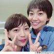 """大島優子&川口春奈""""制服姿""""で2ショット"""