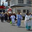 蔵の町並みを夏の祭華が彩る 長野県須坂市で「須坂祇園祭 天王おろし 笠鉾巡行」開催