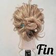 ふわふわおだんごでフェミニンに♡結婚式で使えるお呼ばれヘア