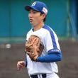 中日藤嶋、復帰登板も危険球退場処分 広島松山の頭部に141キロ直球が直撃
