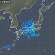 11日 雨雲はゆっくり東へ 冷涼な北東の風続く