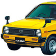 '80年代の軽自動車「KM1 レックス」と「L55S クオーレ」が1/20スケールキットの2台セットで青島文化教材社から発売!