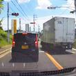 「ブレーキ壊れてるのかと思った」信号無視の逆走で猛スピードのトラックがぶち抜いていく動画が物議!即刻免許取り消しして欲しいレベル!