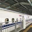 山陽新幹線の新神戸駅1番のりば、可動式ホーム柵使用開始 JR西日本