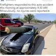巨大サボテンがフロントガラスを突き破る ドライバーは軽傷(米)