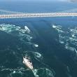 鳴門海峡の渦潮が兵庫県の「夏絶景」第1位に選出  夏の大潮時期も春や秋に負けない迫力のある渦潮が出現