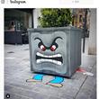 フランス人アーティストによる日本文化モチーフのストリートアート