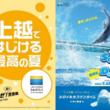 【上越市立水族博物館うみがたり】今年一番の躍動感を生み出す、ダイナミックなドルフィンパフォーマンス「Splash of Dolphin」【令和元年7月13日(土)~9月1日(日)】