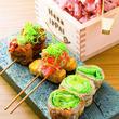 豚肉の旨味とさっぱりヘルシーな野菜でいくらでも食べられる!屋台名物「野菜巻き串」の専門店4選