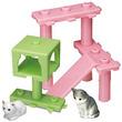 エポック社のカプセルトイに猫とキャットタワーが登場!集めればプレイセット的楽しさも広がります!