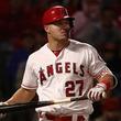 【MLB】右ふくらはぎ痛トラウトの17日復帰は? 指揮官「可能性はある。先発出場か代打か」