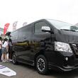8月下旬発売! 日産NV350キャラバンの新モデル「アーバンクロム」が鵠沼海岸に現る