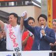 秋田で応援演説の小泉進次郎氏を直撃。「イージス・アショアになぜ触れないのですか?」