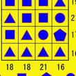 洞察力の高さがわかるかも!4個の図形に当てはまる数を答える問題!
