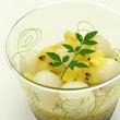 【船橋屋こよみ】初夏にぴったりの和洋スイーツ!ゴールドキウイの白玉しるこを販売します。
