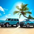その名は「ビキニ・エディション」! ジープ・ラングラーとジープ・レネゲードに夏のビーチが似合う限定車が登場