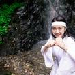 滝行に初挑戦の平祐奈が風変りな妄想を明かす「もし神主になったら、どんなご利益をお届けしようかな(笑)」