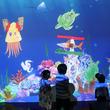 阪急うめだ本店で「チームラボ 学ぶ!未来の遊園地」 最新のデジタルアートを体験