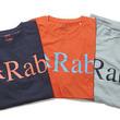 売れ筋週間ランキング! ロゴを大胆に配した「Rab」のTシャツが大好評!!【買えるGO OUT】