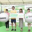 元バクステ塚田綾佳ら、三浦海岸のビーチスポーツ体験施設「SAMMY BEACH FIELD」をPR