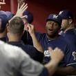 【MLB】打った打者が脱帽した 名中堅手の超人HRキャッチに米絶賛の嵐「腹立つくらい上手い」