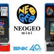 SNKのゲーム機「NEOGEO mini」生産終了へ ブランド40周年の終了に合わせて