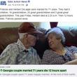 結婚71年の夫婦、12時間差で亡くなる 「究極のラブストーリー」(米)<動画あり>