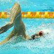 【世界水泳】ドーピング検査妨害疑惑の孫楊、400m自由形でV4達成 中国の大応援団から歓声