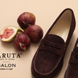 "HARUTA for SALON ""秋色""スエードローファー 8.10 NEW RELEASE"