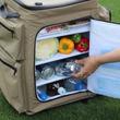 冷蔵庫のようなクーラーボックスに外ポケットがついてさらに便利になった!
