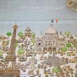 まるでアート!!フランス製おくるみ「AtelierChoux」からパリの街並みが描かれた【PARIS】新発売!