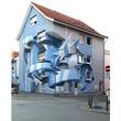ドイツに現れた「3D壁画アート」がかっこいい
