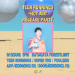 Teen Runnings「Hot Air」のリリースパーティーにSuper VHS、pool$ide